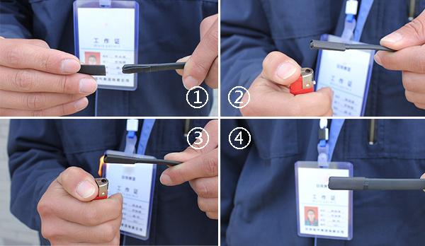 打开接线盒,拧开电极接线柱螺母;